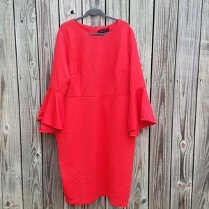 BOGO Eloquii 24 Bell Sleeve Scuba Dress